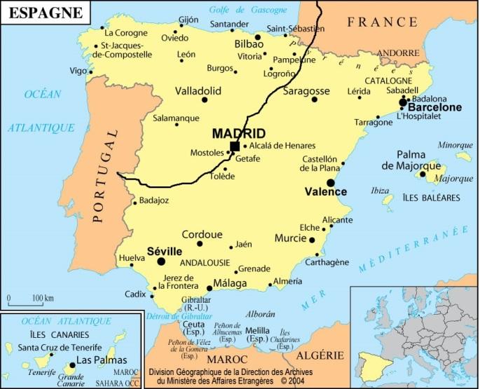 Espagne itinéraire 1