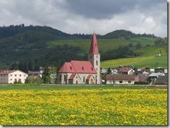 Vue depuis notre dernier bivouac slovaque