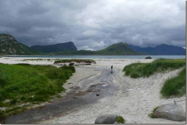Iles Lofoten - Plage d'Haukland (1)