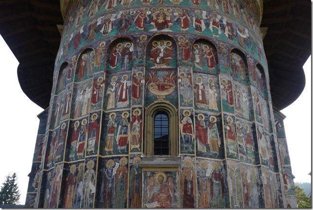 Bucovine - Monastère de Sucevita (14)