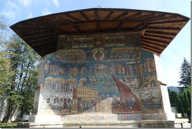 Bucovine - Monastère de Voronet (11)