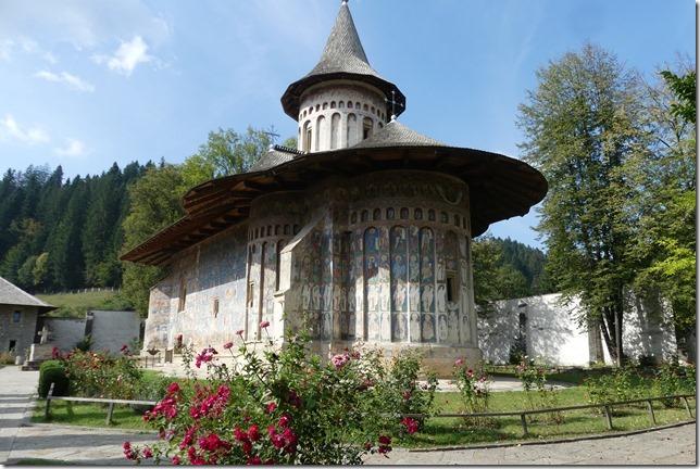 Bucovine - Monastère de Voronet (18)