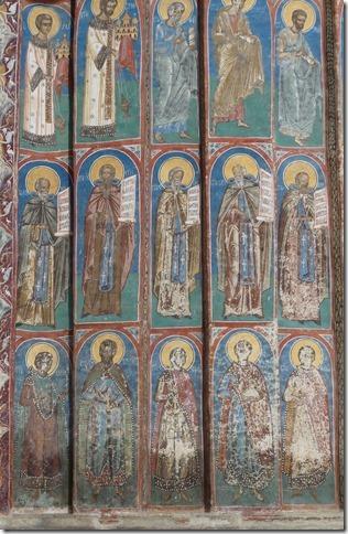 Bucovine - Monastère de Voronet (22)