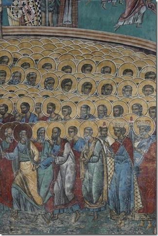 Bucovine - Monastère de Voronet (29)