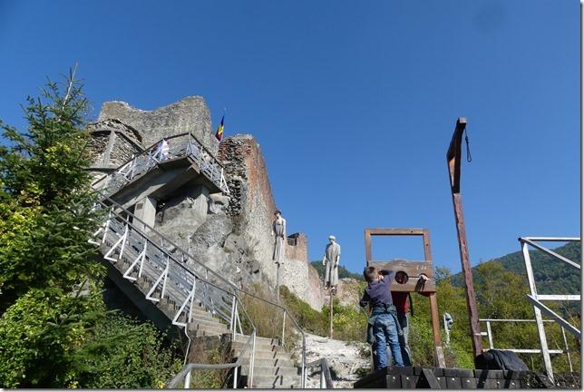 Les Carpates - Vrai chateau de Dracula (13)