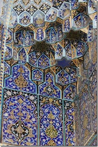 Tabriz - mosquée bleue (15)