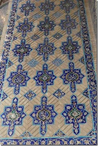 Tabriz - mosquée bleue (17)