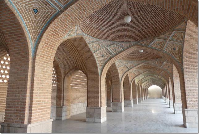 Tabriz - mosquée bleue (1)