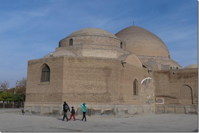 Tabriz - mosquée bleue (2)
