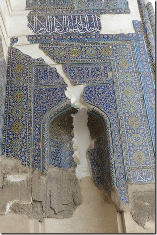 Tabriz - mosquée bleue (5)