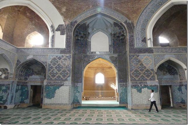 Tabriz - mosquée bleue (7)