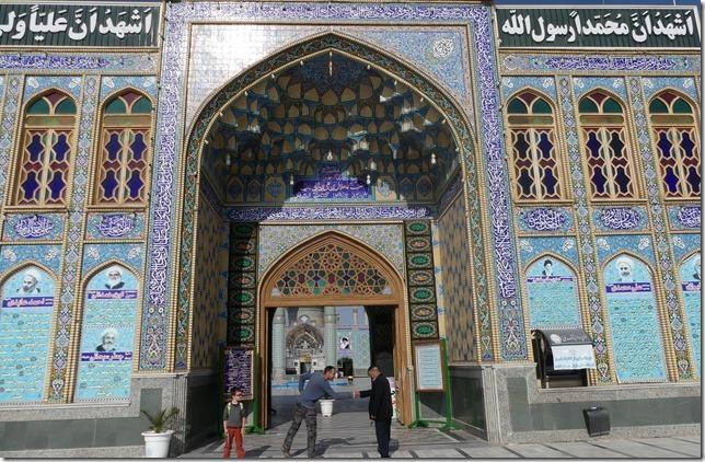 Autour Kashan - mosquée (1)