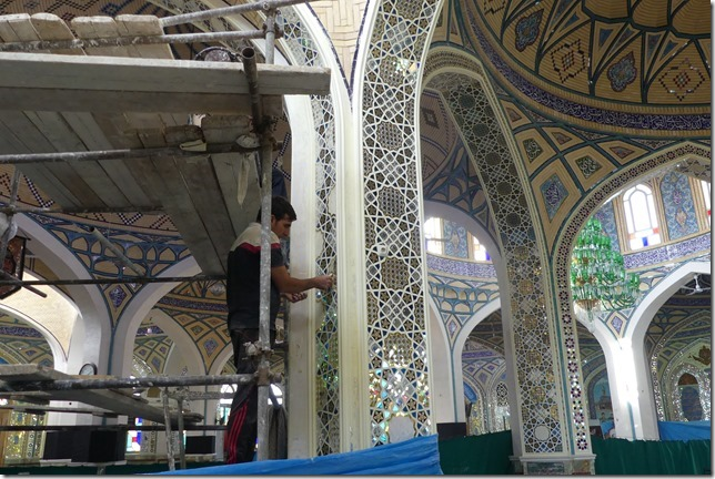 Autour Kashan - mosquée (25)