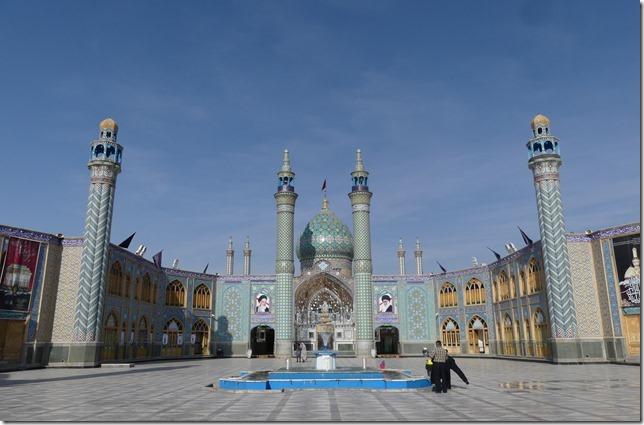 Autour Kashan - mosquée (2)