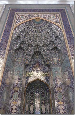 Muscat, grande mosquée (21)