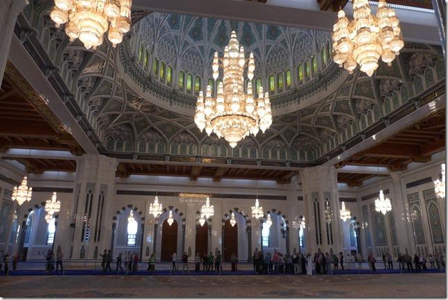 Muscat, grande mosquée (27)