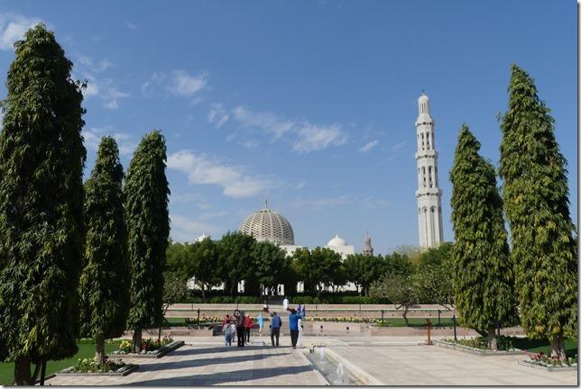 Muscat, grande mosquée (2)
