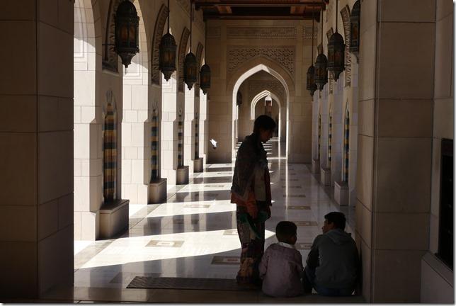 Muscat, grande mosquée (36)