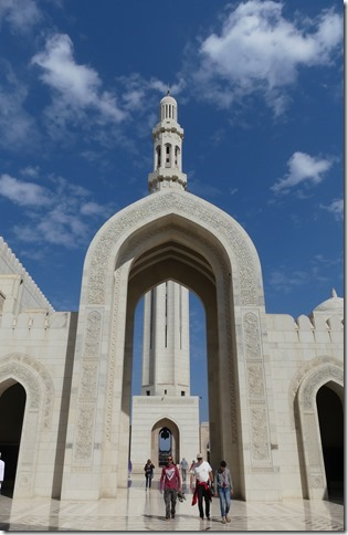 Muscat, grande mosquée (38)