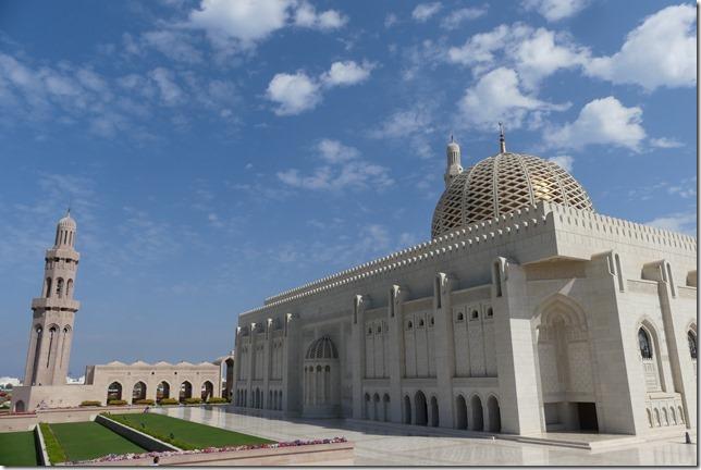 Muscat, grande mosquée (54)