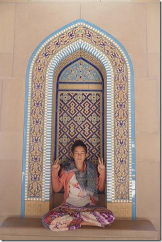 Muscat, grande mosquée (58)