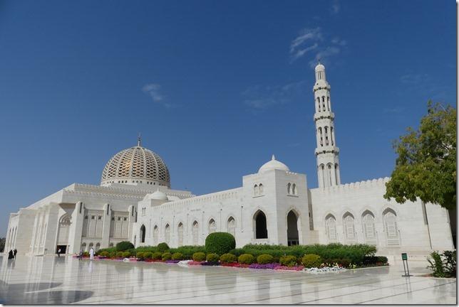 Muscat, grande mosquée (60)