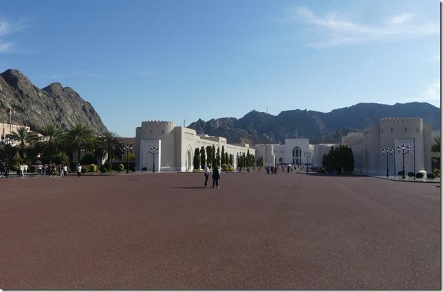 Muscat, palais du Sultan (4)