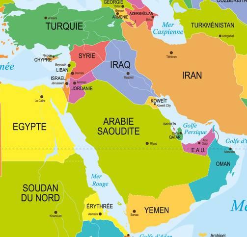 carte-pays-moyen-orient
