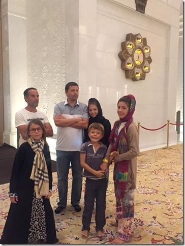 Abu Dhabi - Grande mosquée (101)