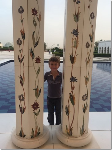 Abu Dhabi - Grande mosquée (102)