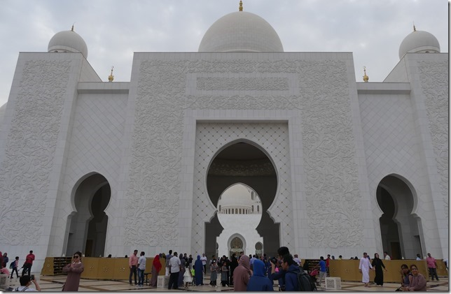 Abu Dhabi - Grande mosquée (14)