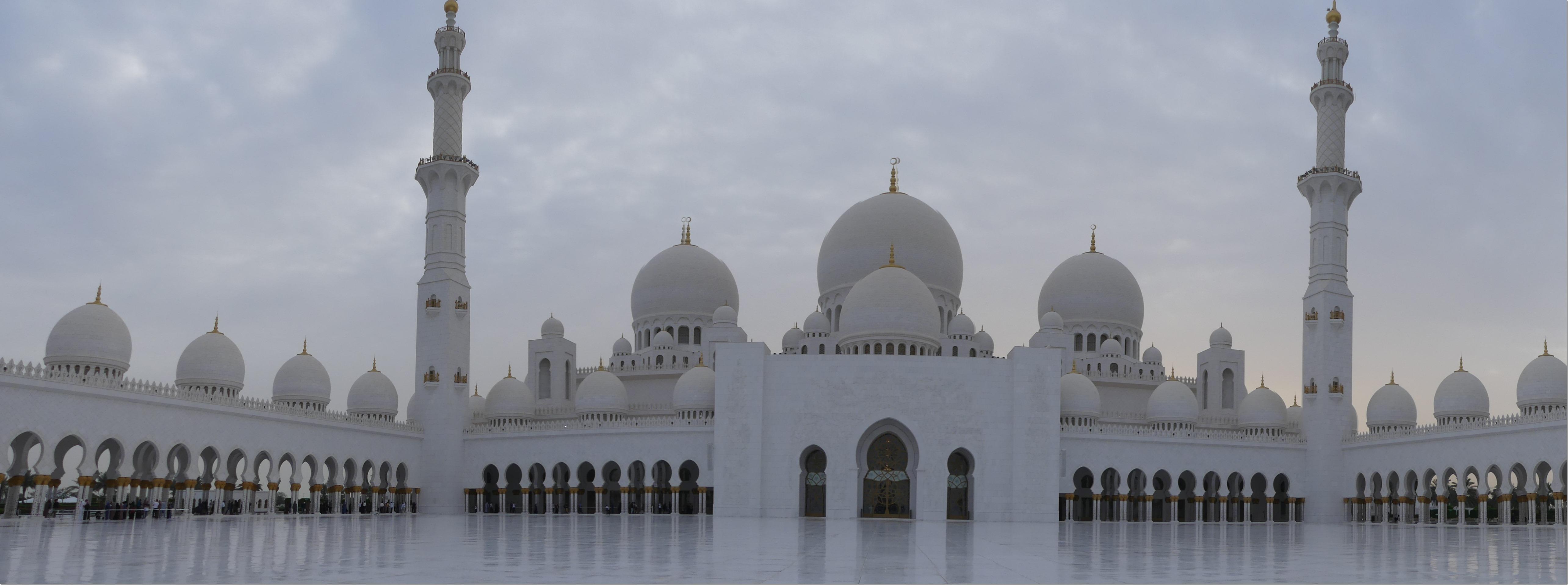 Abu Dhabi - Grande mosquée (25)
