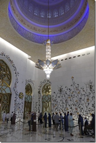 Abu Dhabi - Grande mosquée (38)
