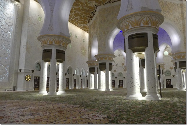 Abu Dhabi - Grande mosquée (47)