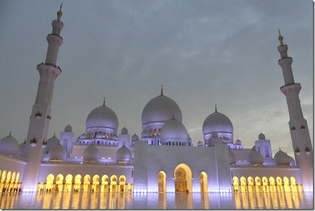 Abu Dhabi - Grande mosquée (67)