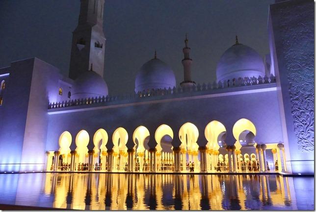 Abu Dhabi - Grande mosquée (73)