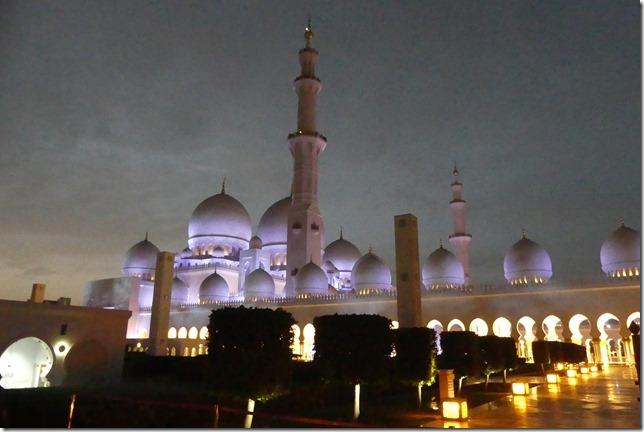 Abu Dhabi - Grande mosquée (74)