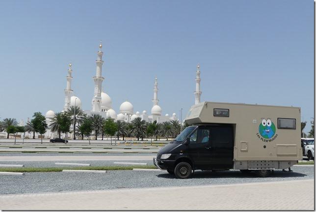 Abu Dhabi - Grande Mosquée (75)