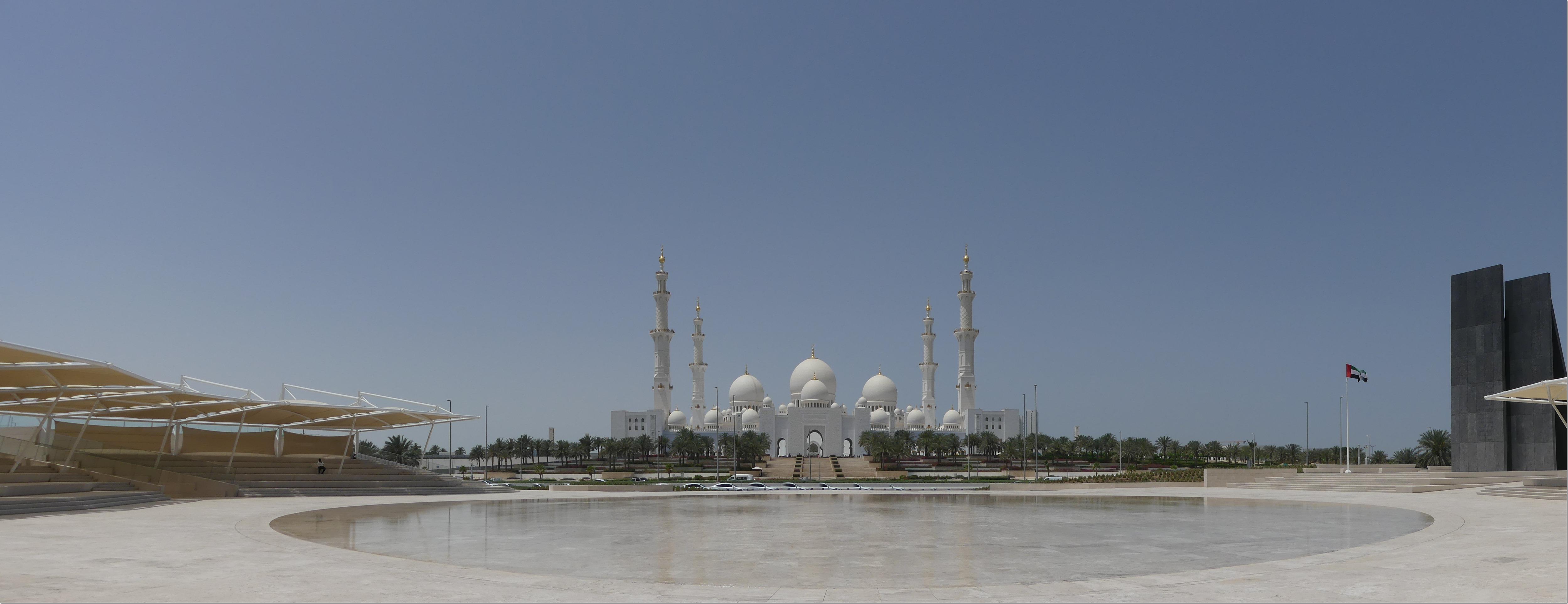 Abu Dhabi - Grande Mosquée (87)