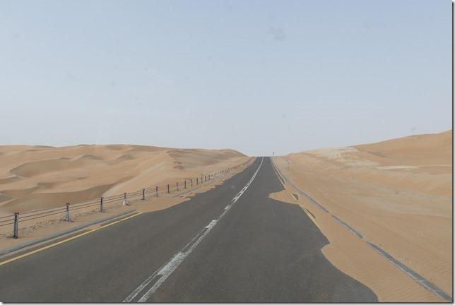 Désert de Liwa - route (2)