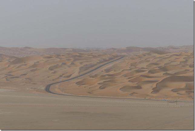Désert de Liwa - route (5)