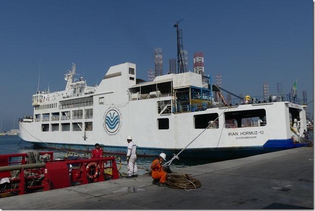 Sharjah - Arrivée au port  (4)
