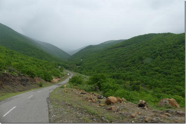 Sur la route - campagne iranienne (3)