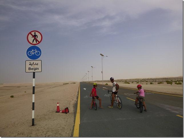 Vélo dans le désert (1)
