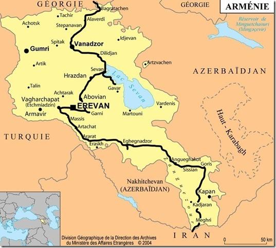Arménie Itinéraire