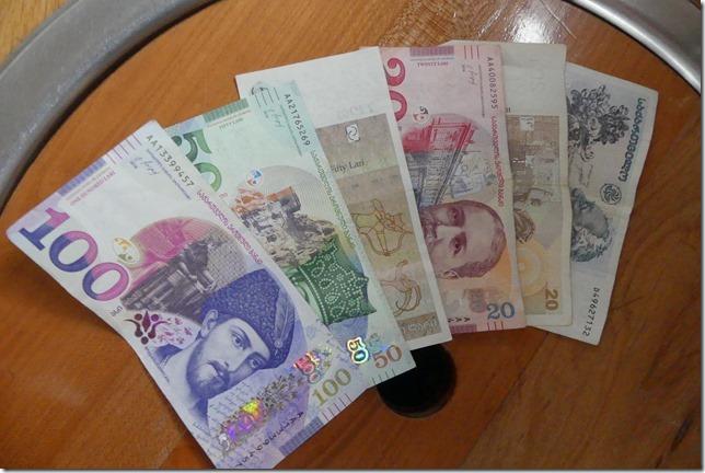 Vie quotidienne - Monnaie géorgienne - lari (2)