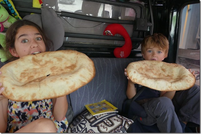 Vie quotidienne - pain géorgien