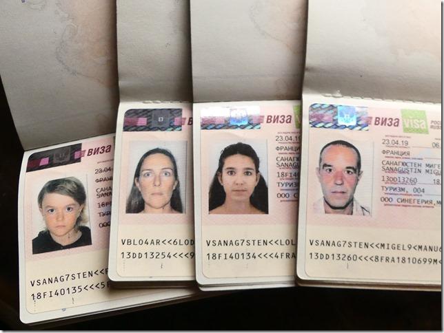 Visas russes (1)