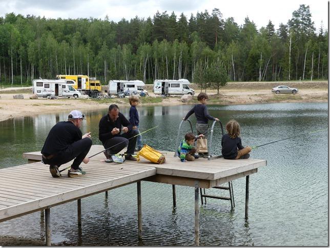 Lac Ikskile entre voyageurs (15)