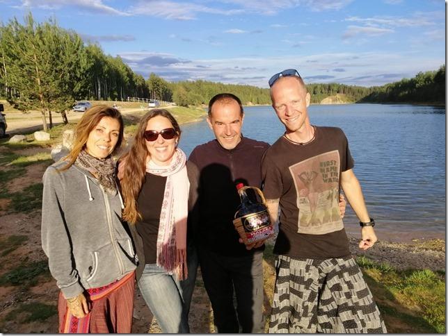Lac Ikskile entre voyageurs (29)